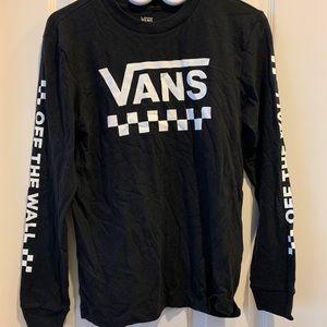 VANS long sleeve cotton shirt